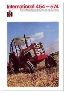 International 454 - 574 Brochure 1970s