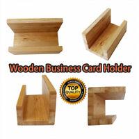 Visitenkartenständer Aus Bambus, Visitenkartenhalter, Büro, Werbung