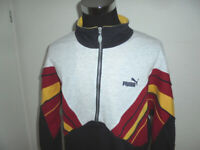 vintage 80s PUMA sweatshirt pullover oldschool sweater 80er Jahre jumper XL