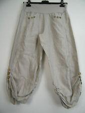 Pantaloni da donna beige taglia 44