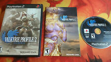 VALKYRIE PROFILE 2 SILMERIA USA PLAYSTATION 2 PS2 SHIPPING 24/48H