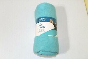 Evolve Yoga Mat Towel 24 X 68 Gaiam Blue Full Size Polyester