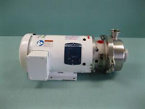 """2"""" x 1-1/2"""" SPX Waukesha Cherry Burrell 2045 Centrifugal Pump 3 HP NEW B9 (2908)"""