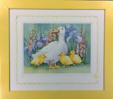 """Pencil-Signed Limited Edition Lithograph by Lynn Greer: """"Duckling Dance"""""""