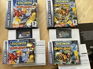 Digimon Battle Spirit 1 and 2 Gameboy Advance Double Bundle! Look In The Shop!