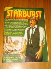 STARBURST #33 BRITISH SCI-FI MONTHLY MAGAZINE MAY 1981 SNOW WHITE JAMES BOND