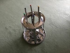 Fondue Set With Candel Heater VGC