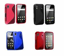 Pour Samsung Galaxy Ace S5830  Coque Gel Silicone S-Line + 1 Film de protection