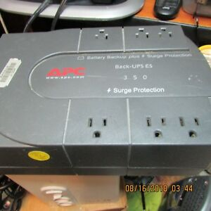 BACK-UPS ES 350 APC 120 volt,12 amp,,4.2 A-TOTAL OUTPUT CURRENT 120V,