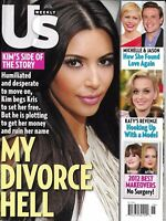 Us Weekly Magazine Kim Kardashian Best Makeovers Katy Perry Michelle Williams