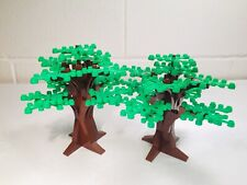 LEGO MOC One Tall Tree + One Smaller Tree - Set 10193