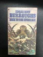 BACK TO THE STONE AGE by Edgar Rice Burroughs (1973) Ace pb Frazetta cover