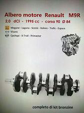ALBERO MOTORE RENAULT MEGANE LAGUNA SCENIC KOLEOS ESPACE TRAFIC 2.0 DCI M9R
