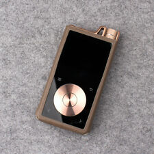 For Questyle QP2R , MITER PU Leather Case Cover - Ash Brown
