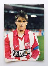 Real Photo Dragan Stojkovic PIKSI ストイコビッチRed Star Belgrade Football Nagoya Gramp