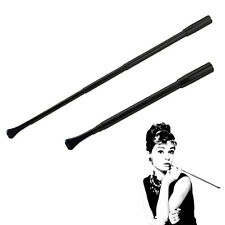 Telescopic Lady Slim Cigarette Holder Filter Cartridges Core Cosplay Props Black