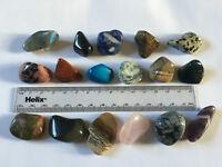 1 x Quality Tumblestone*Med Lg15-35mm*Pick & Mix*Healing Chakra Crystal Gemstone