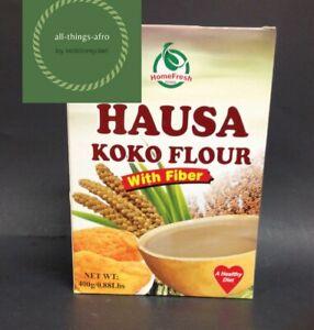 HAUSA KOKO FLOUR Fermented Corn Flour, OGI- AKAMU- KOKO