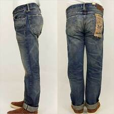 RRL Double RL  Low Straight Denim Yosemite Wash Selvedge Men's Jeans 36 x 32