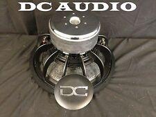 """DC AUDIO Level 4 15"""" 2 ohm Dual Voice Coil Subwoofer 1400/2800 Watt NEW"""
