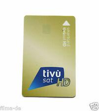 Carte Tivusat smarcard-rédigent attivata. Carta tivúsat-ACTIVE Smart Carte