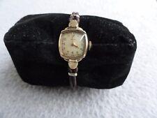 Vintage Swiss Made Wind Up Tavannes Ladies Watch - Not Working