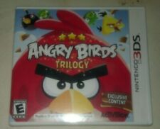 Angry Birds Trilogy (Nintendo 3DS, 2012) Complete With Manual CIB Tested