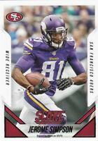 2015 Panini Score Football Sammelkarte , #55 Jerome Simpson