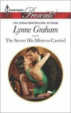 The Secret His Mistress Carried (Harlequin Presents) by Graham, Lynne, Good Book