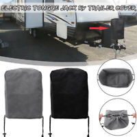30x33cm Universal Electric Tongue Jack Cover Protector For RV Trailer Camper