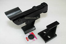 OPTICAL Hardware RED DOT finderscope con raccordi e batteria. Boxed. ASTRONOMIA