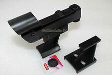 OPTICAL Hardware RED DOT finderscope con raccordi e batteria. Boxed. ASTRONOMIA