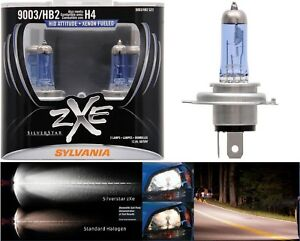 Sylvania Silverstar ZXE 9003 HB2 H4 60/55W Two Bulbs Head Light Replacement Lamp