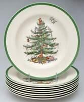 Spode CHRISTMAS TREE Set of 8 Dinner  Plates 10871056