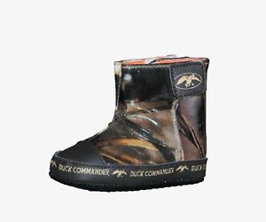 Phil's Duck Commander Baby Shoes Boots, Realtree Max-4 Camo