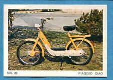 MOTO - Ed. Raf - Figurina/Sticker n. 25 - PIAGGIO CIAO -Rec