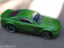 2013 Hot Wheels 07 FORD MUSTANG 229/250 Then and Now LOOSE Green
