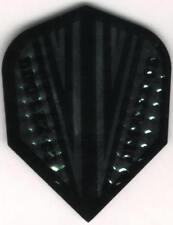 Dimplex Black/Silver CD Dart Flights: 3 per set