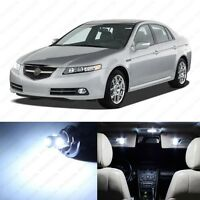 13 x White LED Interior Lights Package For 2004 - 2008 Acura TL + PRY TOOL