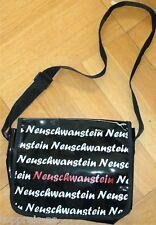 moderno bolso de Bandolera mano y hombro charol Brillante Neuschwanstein NUEVO