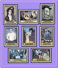 ESPAÑA 1978 2481/8 Picasso 8v.