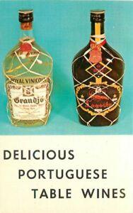 Advertising Non Postcard back Delicious Portuguese Table Wines 21-1760