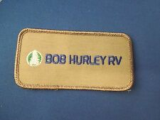 Bob Hurley RV Logo Iron On Patch - Located in Oklahoma