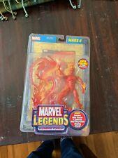 Marvel Legends Series 2 Human Torch Action Figure