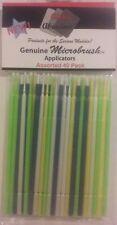 Alpha Abrasives Microbrush applicators, assorted 40 pack.