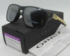 "OAKLEY black gold/black ""PRIZM"" POLARIZED ""HOLBROOK MIX"" OO9385-0757 sunglasses"