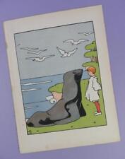 Una Geografia dell'Arca di Noè, Mabel dearmer ANTICO LIBRO stampa RIF. 6, Sea Lion