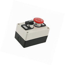 Red Mushroom Emergency Stop Switch Push Button Station