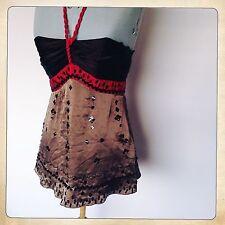 Monsoon Silk Strappy, Spaghetti Strap Semi Fitted Women's Tops & Shirts