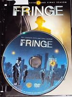 FRINGE FIFTH & FINAL SEASON DISC 4 Replacement Disc Only Sci-Fi Anna-Torv FOX TV